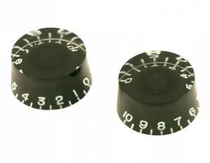 Bilde av Gibson ratt - Left Hand - 2 stk - svart