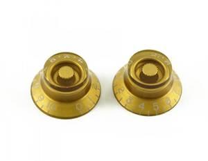 Bilde av Epiphone ratt - klokkeform - 2 stk - gull