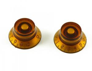 Bilde av Epiphone ratt - klokkeform - 2 stk - rav