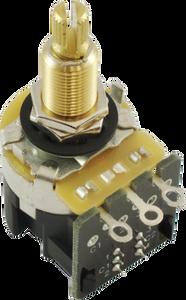 Bilde av Potmeter CTS Longshaft m DPDT switch 500K
