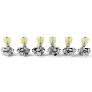 Bilde av Kluson 3 Per Side Locking Revolution Series G-Mount - krom